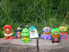 Mcnugget Buddies (flores272) Tags: vintage toy toys 80s 80 1980s mcnuggets mcdonaldtoy mcnuggetbuddies
