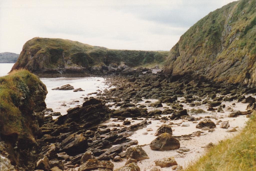 Castle Point Beach, Rockcliffe, July 1988