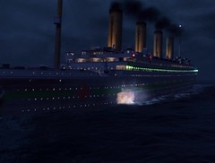 HMHS Britannic Sinking (Guardian Screen Images) Tags: world ocean family original red white film hospital movie one star 1 tv war mine 2000 ship cross sister ships navy royal class line fox his british uboat olympic naval channel sinking liner britannic titanics majestys hmhs