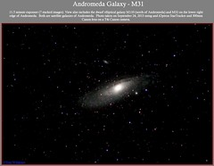 Andromeda Galaxy (The Dark Side Observatory) Tags: sky canon stars spiral timelapse telescope andromeda galaxy astrophotography m31 physics astronomy nightsky messier universe ngc224 constellation cosmology meade astronomer andromedagalaxy skytracker Astrometrydotnet:status=solved ioptron tomwildoner Astrometrydotnet:id=supernova9756
