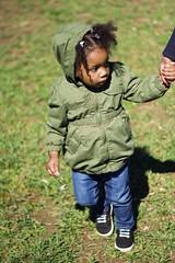 Morgan, at the park. calayforniaphotography@gmail.com (calayfornia) Tags: park light baby cute green girl grass vertical canon outside rebel 50mm natural small baltimore littlegirl canonrebel t3i 50mm18 baltimorephotography canonrebelt3i