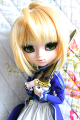 Pullip Saber (Ayu-yu) Tags: make up night doll fate saber pullip fc zero stay obitsu