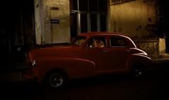 Havana - Cuba (IV2K) Tags: street red classic car dark classiccar sony havana cuba centro caribbean cuban habana kuba colon rx1