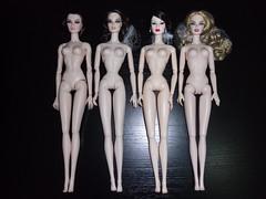 skin tone comparison_2 (SauroZ1) Tags: dolls cream pale porcelain alabaster skintones skintonescomparison referenceskintones