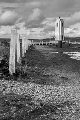 Posts at Browns Point (b#Photo) Tags: blackandwhite bw lighthouse monochrome washington nikon post pacificnorthwest commencementbay d80 brownspointlighthouse