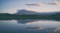 My Home (jasohill) Tags: mountain color home nature japan canon landscape photography eos town spring pond scenery rice paddy small m iwate  viewing   mtiwate hachimantai 2015    efm22mmf20stm canon22mm20stm
