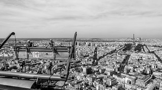 Men at Work, Tour Montparnasse, Paris, France