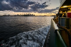 Sydney Harbour (Bill Thoo) Tags: sydney nsw australia manly ferry manlyferry sydneyharbour harbour sunset city cityscape landscape waterscape travel urban sony a7rii samyang 14mm ngc