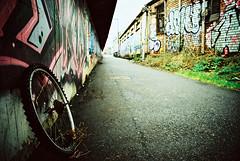 So Tired (AJ_UK) Tags: 35mm film bristol saints easton xpro nikonf80 crossprocessing ektachrome