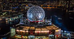 2016 - Vancouver - Science World - 2 of 2 (Ted's photos - Returns late November) Tags: 2016 bc canada cropped nikon nikond750 nikonfx tedmcgrath tedsphotos vancouver vancouverbc vancouvercity vignetting falsecreek falsecreekeast eastfalsecreek dome scienceworld telusworldofscience nightscene nightlighting night water waterreflection cityofvancouver cityview city cans2s