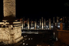 Foro Traiano (magic penguin ^^) Tags: foro traiano rome roma italy italia night nit noche lights luces llums trajano forum traja apolodoro de damasco imperial ruins ruinas columna column trajan