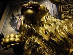 Mark's Lion (failing_angel) Tags: 100115 london towerhamlets toweroflondon wingedlion stmarktheevangelist corfu napoleon