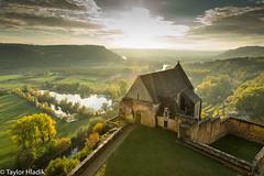 Church at Chteau de Beynac (TaylorH22) Tags: 1685 d500 nikon flickr other france dordongne river beynac church chateau sunset ruins