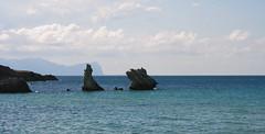 Sep 24: Sicily Rocky Coast Terrasini (johan.pipet) Tags: flickr terrasini sicily italy island sea mediterranean rock water sunny skyline landscape seascape eu europe palo bartos barto canon