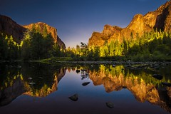 colors and reflection (steadfast1898) Tags: elcapitan halfdome yosemitenationalpark california