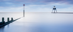 Dovercourt Sunrise (TeddyWobble) Tags: nikon sunrise lighthouse coast groyne longexposure dovercourt felixstowe