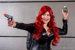 Black Widow (dgwphotography) Tags: cosplay nycc nycc2016 newyorkcomiccon nikond600 nikoncls portrait blackwidow marvelcomics marvel 70200mmf28gvrii