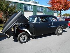 1955 Chevy 210 (splattergraphics) Tags: 1955 chevy 210 chevy210 gasser customcar flipfront carshow rustynutz jalopyrama carrollcountyagriculturalcenter westminstermd