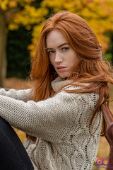 DSC_4853 (AC Photography 828) Tags: redhead redheadmodel redhair ukmodel modelling autumn colours jumper nikon nikond750 nikon85mmf18 park chester acphotography leaves bokeh naturallight natural people outdoor portrait headshot