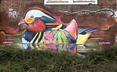 graffiti amsterdam (wojofoto) Tags: amsterdam graffiti streetart nederland netherland holland wojofoto wolfgangjosten ndsm dopie sin