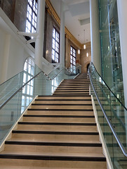 Central Library (Christine Dolan) Tags: manchester library stairs curve