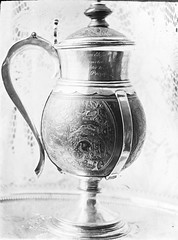 Queen Elizabeth's Cup, Kilkenny Cathedral. Silver. (National Library of Ireland on The Commons) Tags: thomasholmesmason thomasmayne thomashmasonsonslimited lanternslides nationallibraryofireland queenelizabethcup silverjug kilkenny cathedral ireland richardpococke cocoanutflagon coconutflagon flagon oldchurchplateofkilkennycity bishopofossory silver queenelizabeth kilkennycathedral saintcanicescathedral jonaswheeler elizabethi bishop chaplain