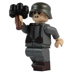 M24 Anti Tank Grenade (X39BrickCustoms .com) Tags: lego bf1 grenade ww1 custom injection molded
