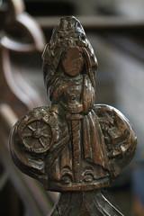Photo of Wilsford, St Mary's church medieval poppyhead
