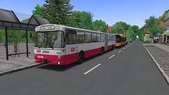 OMSI 2: Mercedes-Benz O 305 G (Bahnbus-mod) CP / MTB (for map Alto da Boa Viagem) - Photo 2 of 4 (O530 Carris PT) Tags: omsi2 mercedesbenz o305g cp caminhos de ferro portugueses mtb boa viagem