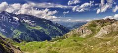High above. (Maximus DiFermo) Tags: maximus difermo austria alps panorama scenery nature clouds light green travel