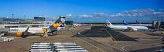 Homebound (achinthaMB) Tags: fra frankfurt airport germany europe aeroplane jet aircanada condorair ana lufthansa canonrebelt2i canoneos550d