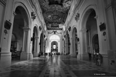 chiesa san Bernardino (sanino fabrizio) Tags: chiesa duomo monumento storia navata prospettiva laquila abruzzo appennini italia canon 550d hdr
