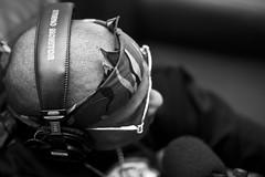Bandana P (bw) (Brotha Kristufar) Tags: 50mm canon nyc culture city hiphop explore explored feature featured main podcast studio rap prodigy mobb deep queens queensbridge infamous album hnic cookbook prison portrait bandanna