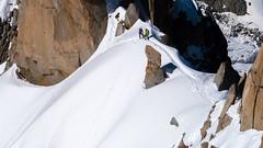 Aiguille du Midi (k335w) Tags: aiguilledumidi fransealpen chamonixmontblanc auvergnerhnealpes france fr alps mountains snow rock landscape