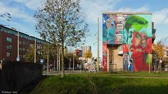 Den Haag Mural : BEYOND & KARSKI (Akbar Sim) Tags: karski beyond denhaag thehague agga holland nederland netherlands streetart mural akbarsim akbarsimonse