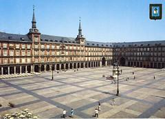 Plaza Mayor (ciudad imaginaria) Tags: madrid postal postcard plazamayor