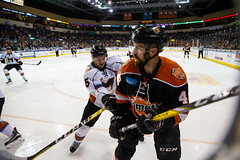 "Missouri Mavericks vs. Ft. Wayne Komets, November 12, 2016, Silverstein Eye Centers Arena, Independence, Missouri.  Photo: John Howe/ Howe Creative Photography • <a style=""font-size:0.8em;"" href=""http://www.flickr.com/photos/134016632@N02/30985683585/"" target=""_blank"">View on Flickr</a>"