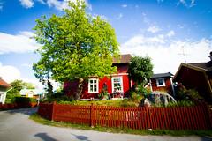 (c) Wolfgang Pfleger-8717 (wolfgangp_vienna) Tags: sweden schweden sverige waxholm vaxholm island stockholm schären wood wooden holzhaus red rot