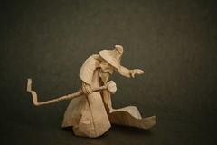 Wizard (Ivan Svatko) Tags: wizard paper satoshi kamiya handmade origami people