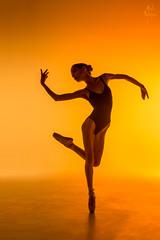 Ballerina II (pyrospawn) Tags: ballet sun warm light shadow silhouette sonya7ii dance sonyfe2470mmf4zaoss viktory orange ballerina viktoria