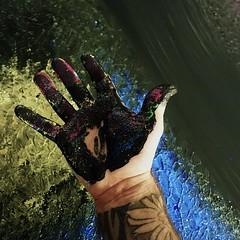 Smudge much :) (Magnus Dacke) Tags: magnus dacke 2016 art konst madart målning painting hässleholm sweden sverige skåne