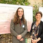 L-R: Thane Fowler, Professor Eva Pomerantz
