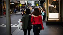 Xmas (McLovin 2.0) Tags: red green xmas street christmas shop shopping style fashion urban city people candid melbourne nikon d810 50mm bokeh friends