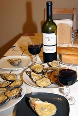 Charbroiled Gulf Oysters with Malbec Norton Reserva (Argentina).    ,        .. (komissarov_a) Tags: ocean party beer price cheese fun texas wine quality knife cook shell streetphotography fresh legendary grill tyler gourmet deli garlic seafood oysters pearl appetizer ipa oliveoil fest popular rgb turbodog mouthwatering secretrecipe   pressurized charbroiled    mexicangulf        nikond300     komissarova    brookshires    25