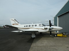 CESSNA 425 CONQUEST I N577PA (BIKEPILOT) Tags: flying airport aircraft aviation airfield wycombeairpark egtb n577pa cessna425conquesti