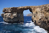 Azure Window (Explored) (Vale Boy) Tags: blue sea people window wet water rocks mediterranean azure malta maltese polarizer gozo dwejrabay explored valeboy cliverees