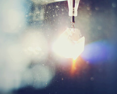____________ (lauren s_) Tags: light abstract color window rainbow shine bright crystal bokeh prism charm flare