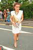 Coleen Rooney Ladies Day at Chester Racecourse Cheshire, England