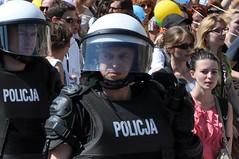 Portret za szybką (bazylek100) Tags: gay march riot police poland polska parade tolerance kraków cracow equality marsz krakoff równości tolerancji