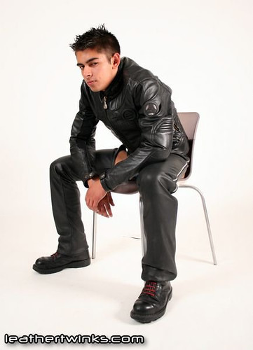 Leather twink pics